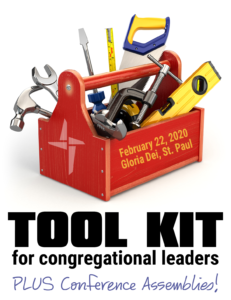Tool Kit for Congregational Leaders - February 22, 2020